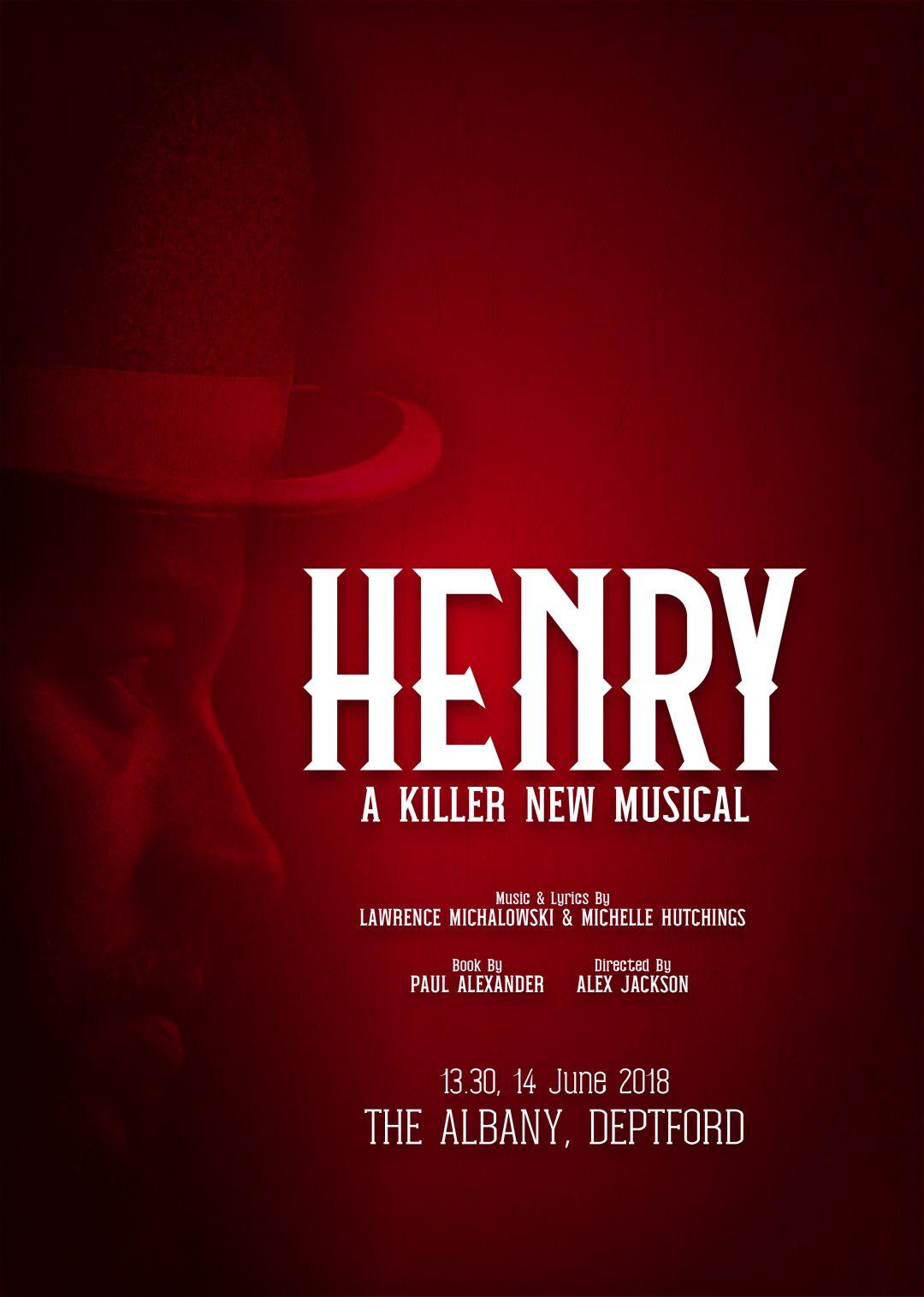 Henry: A Killer New Musical (Graphic design)